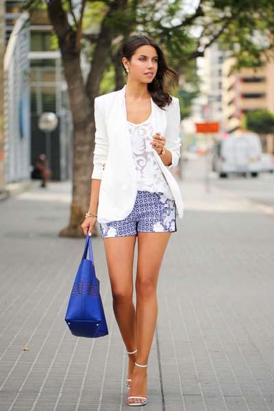 Συνδυασμοί για ντύσιμο με άσπρο σακάκι (9)