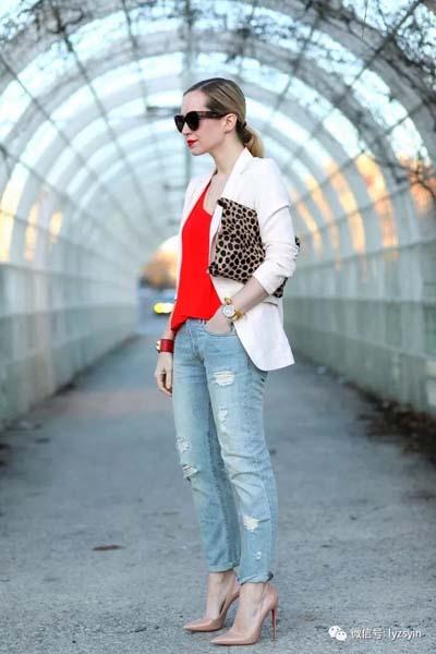 Συνδυασμοί για ντύσιμο με άσπρο σακάκι (14)