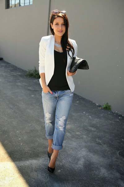Συνδυασμοί για ντύσιμο με άσπρο σακάκι (15)