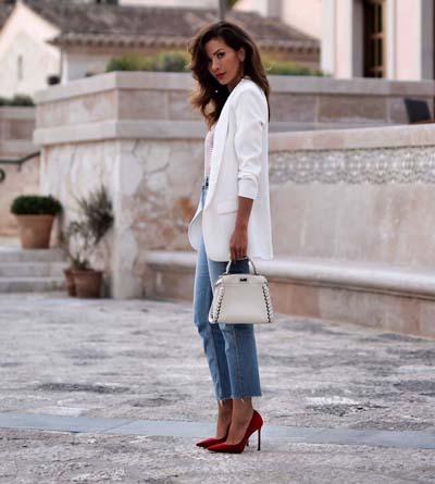 Συνδυασμοί για ντύσιμο με άσπρο σακάκι (16)