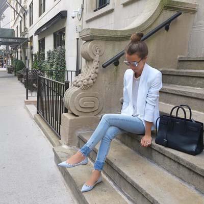 Συνδυασμοί για ντύσιμο με άσπρο σακάκι (18)