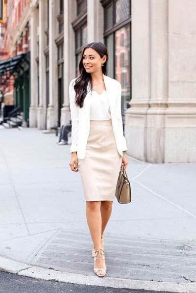 Συνδυασμοί για ντύσιμο με άσπρο σακάκι (21)