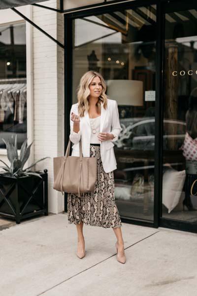 Συνδυασμοί για ντύσιμο με άσπρο σακάκι (25)