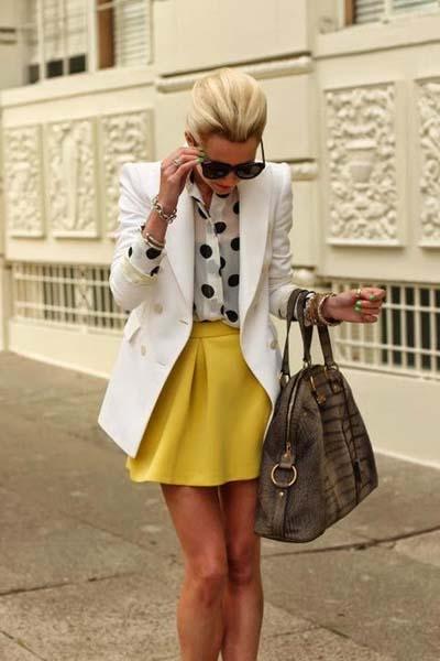 Συνδυασμοί για ντύσιμο με άσπρο σακάκι (26)