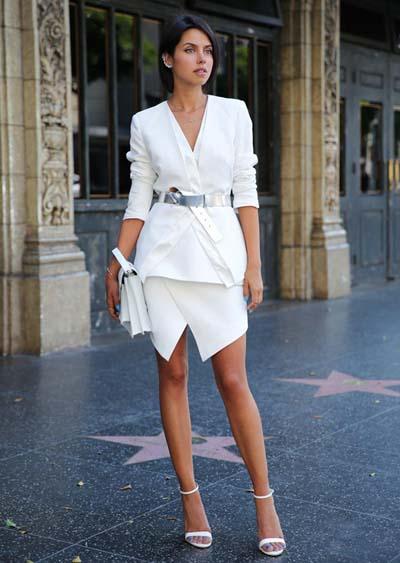 Συνδυασμοί για ντύσιμο με άσπρο σακάκι (27)