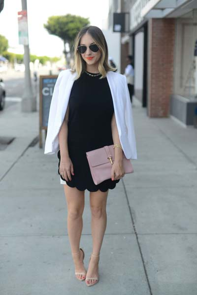 Συνδυασμοί για ντύσιμο με άσπρο σακάκι (29)