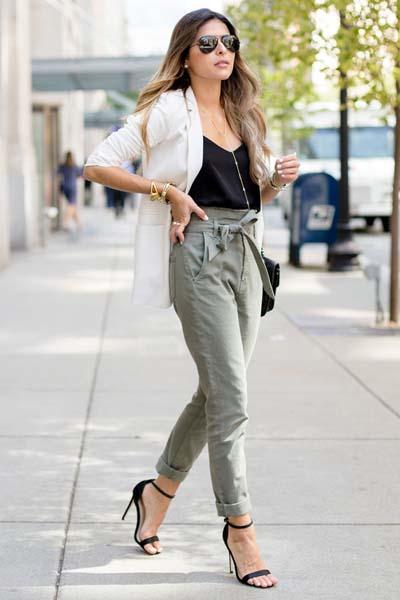 Συνδυασμοί για ντύσιμο με άσπρο σακάκι (35)