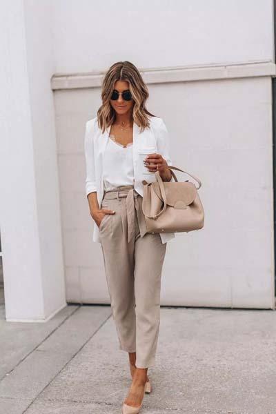 Συνδυασμοί για ντύσιμο με άσπρο σακάκι (37)