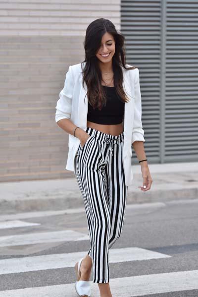Συνδυασμοί για ντύσιμο με άσπρο σακάκι (38)