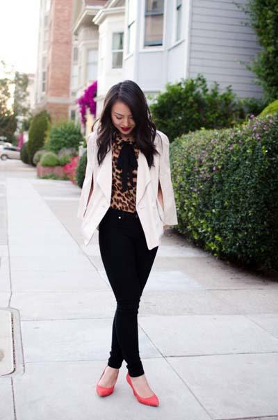 Συνδυασμοί για ντύσιμο με άσπρο σακάκι (42)