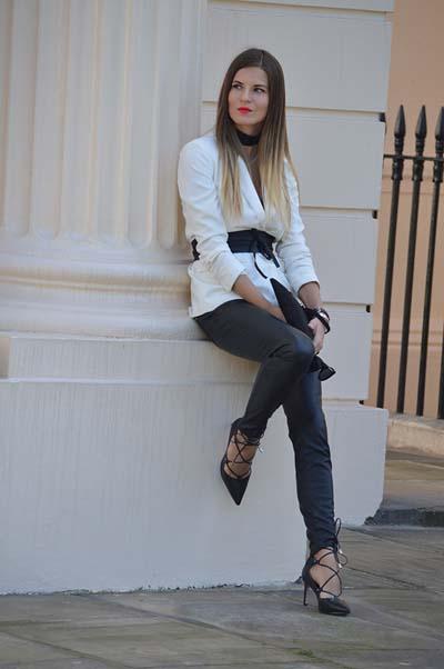 Συνδυασμοί για ντύσιμο με άσπρο σακάκι (43)