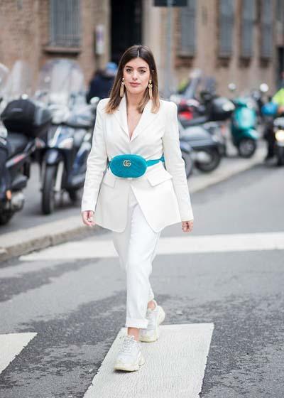 Συνδυασμοί για ντύσιμο με άσπρο σακάκι (45)