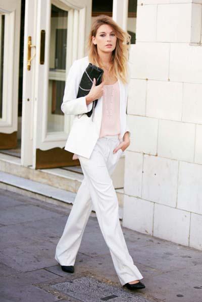 Συνδυασμοί για ντύσιμο με άσπρο σακάκι (48)