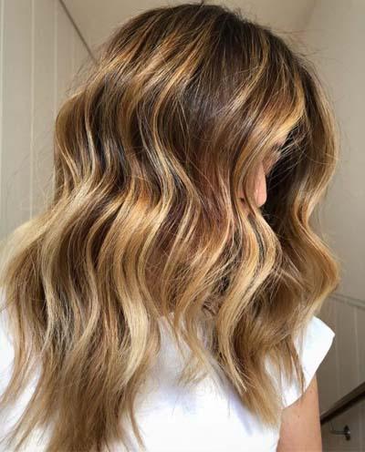 Bronde μαλλιά