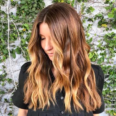 Bronde βαφή μαλλιών