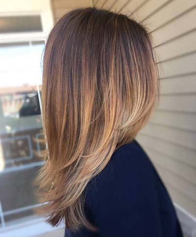 Strawberry bronde Ombre