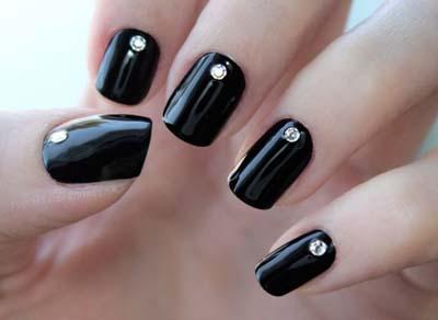 Σχέδια για μαύρα νύχια (5)