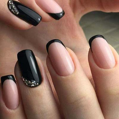 Σχέδια για μαύρα νύχια (8)