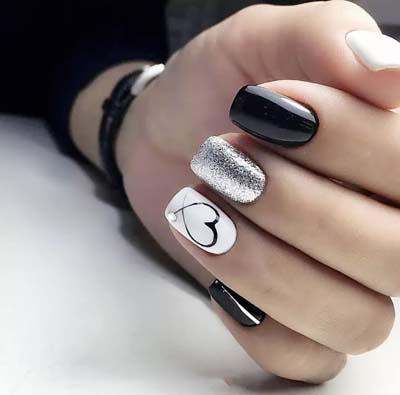 Σχέδια για μαύρα νύχια (10)