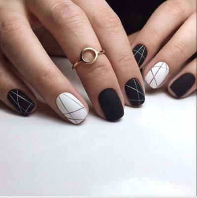Σχέδια για μαύρα νύχια (11)