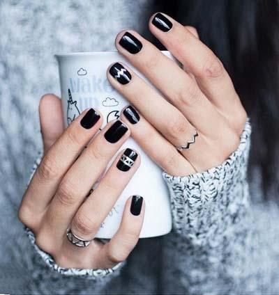 Σχέδια για μαύρα νύχια (15)