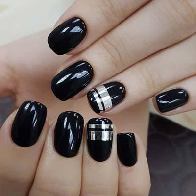 Σχέδια για μαύρα νύχια (17)
