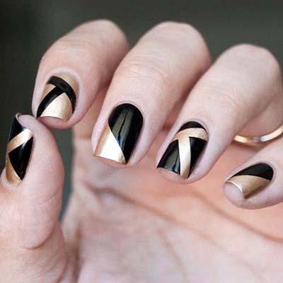 Σχέδια για μαύρα νύχια (20)