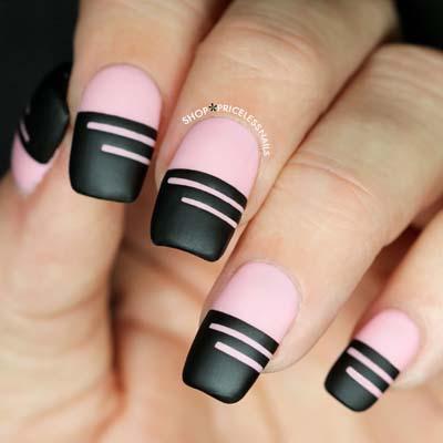Σχέδια για μαύρα νύχια (21)