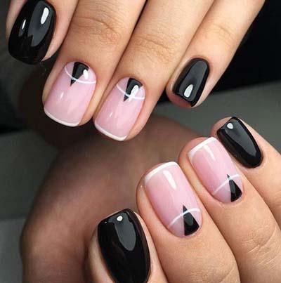 Σχέδια για μαύρα νύχια (23)