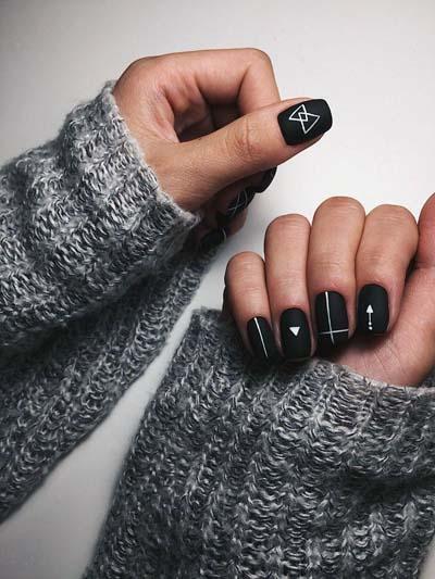 Σχέδια για μαύρα νύχια (31)