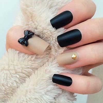 Σχέδια για μαύρα νύχια (32)
