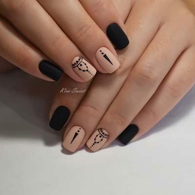 Σχέδια για μαύρα νύχια (33)