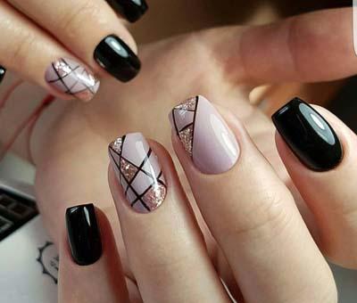 Σχέδια για μαύρα νύχια (34)