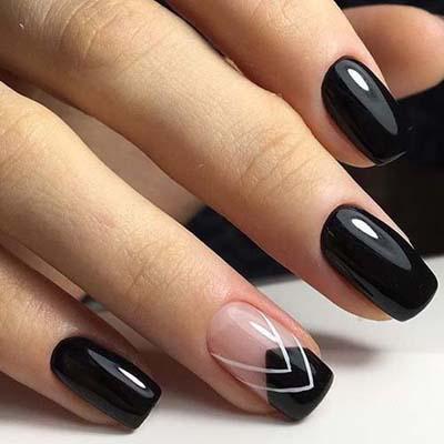 Σχέδια για μαύρα νύχια (38)