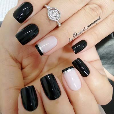 Σχέδια για μαύρα νύχια (42)