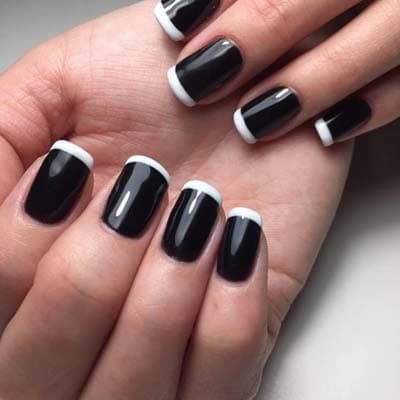 Σχέδια για μαύρα νύχια (46)