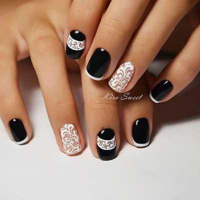 Σχέδια για μαύρα νύχια (55)