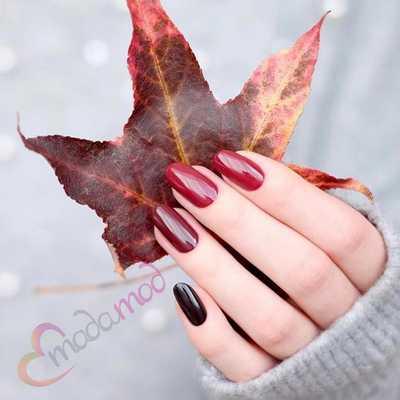 Φθινοπωρινά σχέδια για νύχια (7)