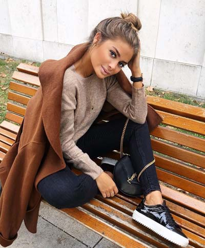 Φθινοπωρινό street style ντύσιμο (2)