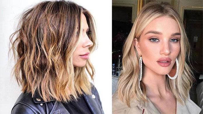 Lob - Μακρύ καρέ μαλλιά