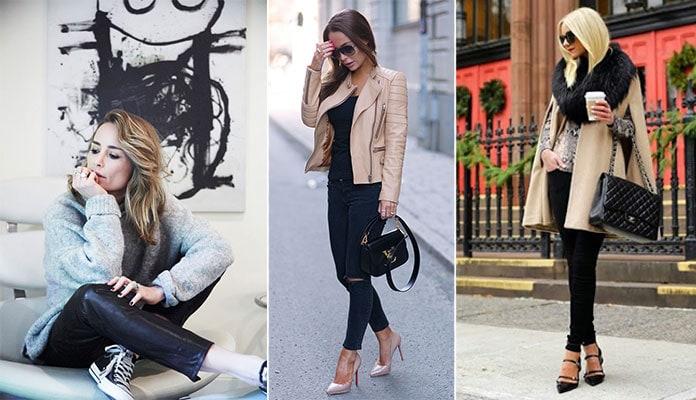 Όμορφοι συνδυασμοί με μαύρο παντελόνι