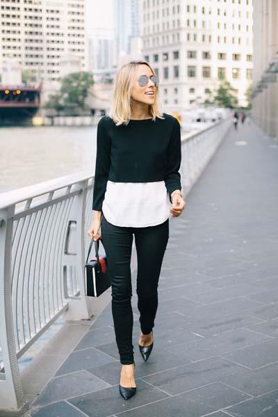 Συνδυασμοί με μαύρο παντελόνι (2)