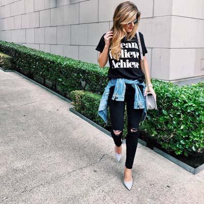 Συνδυασμοί με μαύρο παντελόνι (10)