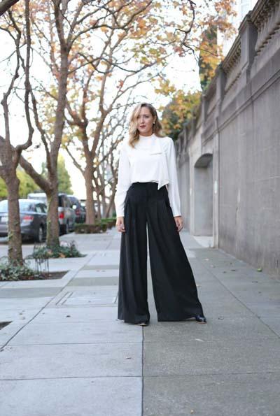 Συνδυασμοί με μαύρο παντελόνι (36)
