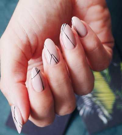 Σχέδια για μπεζ νύχια (24)