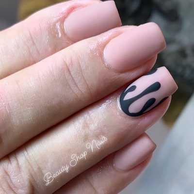 Σχέδια για μπεζ νύχια (30)