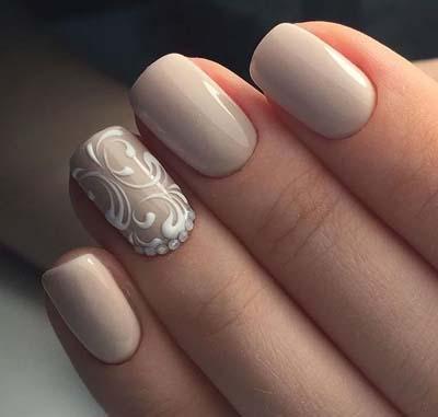 Σχέδια για μπεζ νύχια (50)