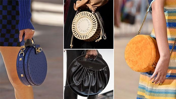 Στρογγυλές τσάντες για την Άνοιξη / Καλοκαίρι 2020