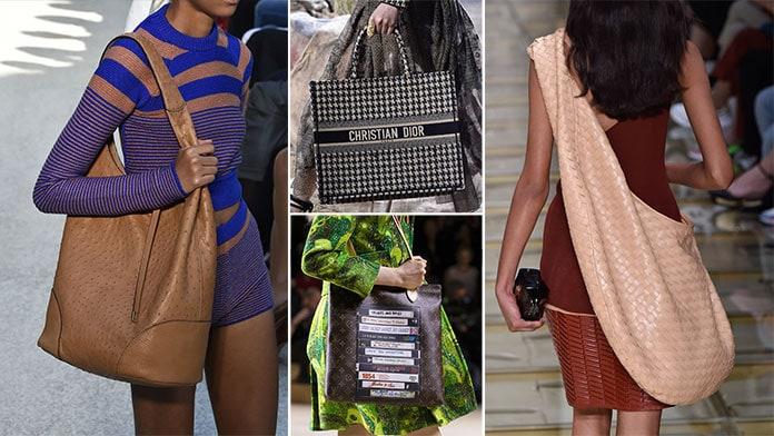 Τεράστιες tote bags για την Άνοιξη / Καλοκαίρι 2020