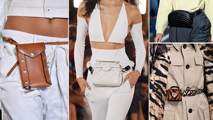 Τσάντες μέσης τύπου ζώνης - Belt bags